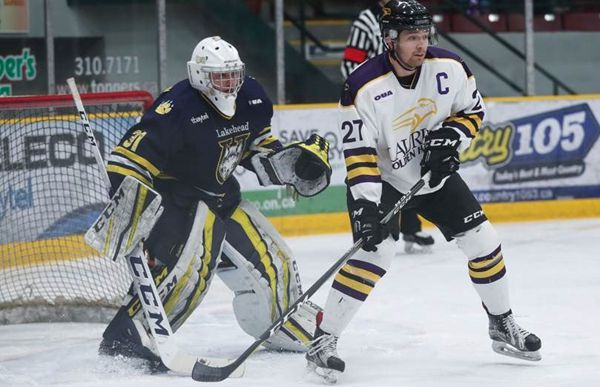 Nic Renyard Thunderwolves Goalie   Lake Superior News