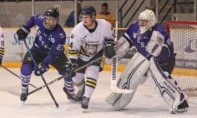 Lakehead thunderwolves Austin McDonald   Lake Superior News