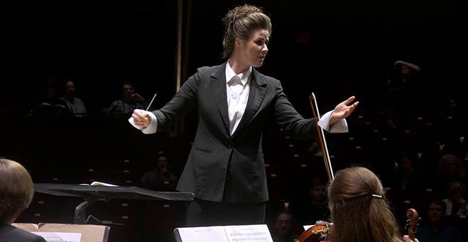 TBSO Maria Fuller as new Resident Conductor  Lake Superior News