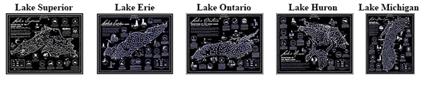 Great Lake Shipwreck Maps