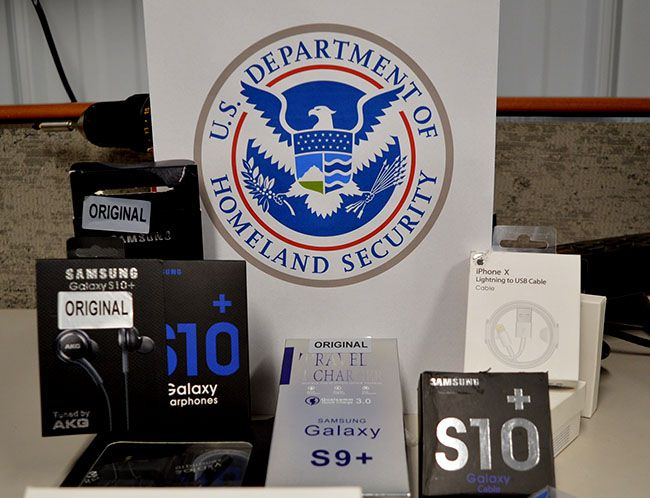 CBP Officers Seize Counterfeit Electronics from Canada ~ Lake