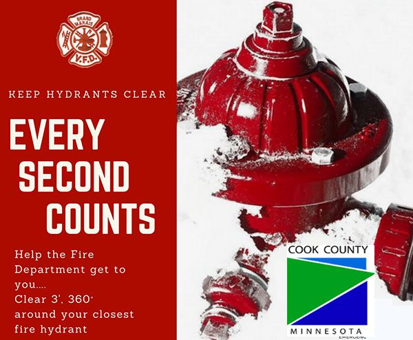 Keep Hydrants Clear  Cook County    Lake Superior News