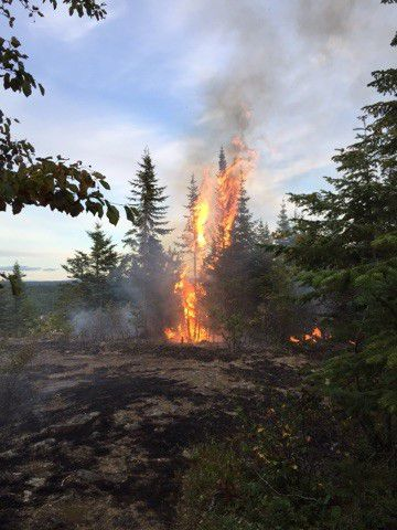 MNR Arson Nipigon Lake Superior News
