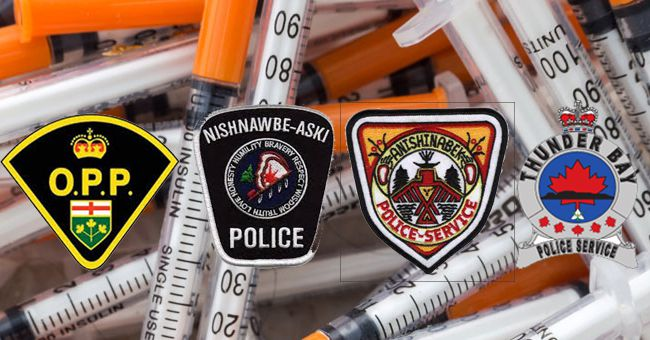 OPP, NAN, Anishinabek and Thunder Bay Police  Drug Arrests      Lake Superior News