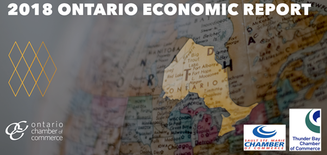 Sault Ste. Marie  Thunder Bay  Chamber of Commerce  2018 Ontario Economic Report  Lake Superior News
