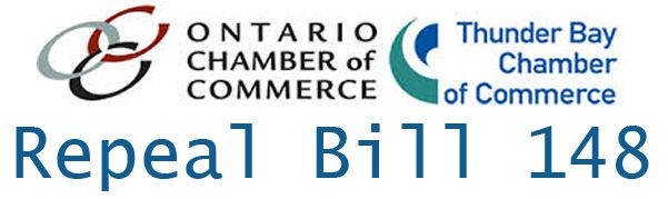 Repeal Bill 148 Thunder Bay Ontario Chamber of Commers   Lake Superior News