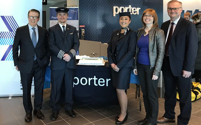 Porter Adds More Daily Flights plus Crew Base in Thunder Bay