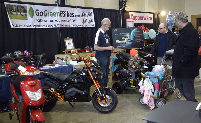 GoGreen Ebikes at the CLE Home and Garden Show   Lake Superior News