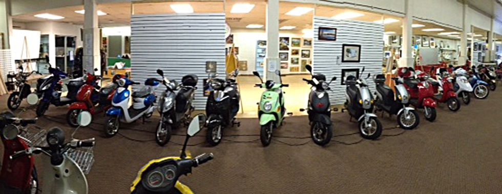 Go Green Ebikes showroom