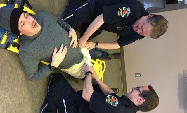 Superior North EMS paramedics BLS patient care standards Lake Superior News