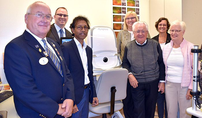 Retinal Imaging Camera  Thunder Bay Regional Hospital   Lake Superior News