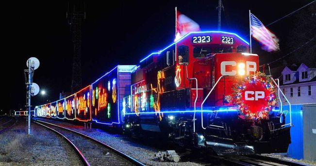 CP Holiday Trains Cross Canada and Northern States  Lake Superior News