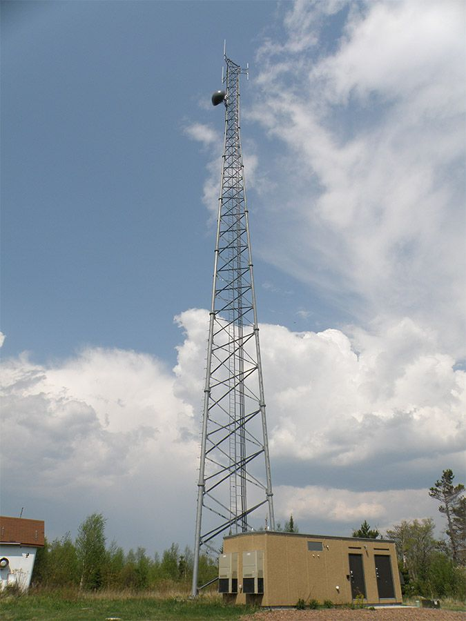Hovland Cell Tower    Lake Superior News