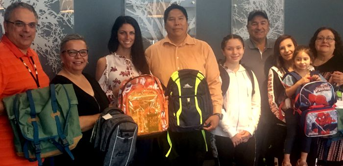 Fort William First Nation Receive School Supplies RBC  Lake Superior News