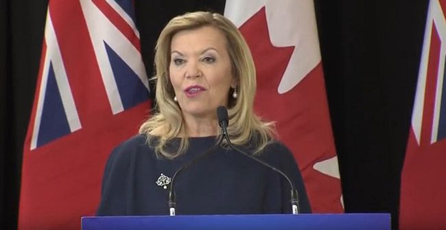 Christine Elliott, Deputy Premier and Minister of Health  Lake Superior News