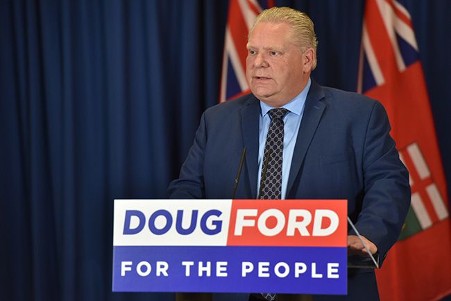 Doug Ford Speaing on Ontario Auditor General  _ Lake Superior News