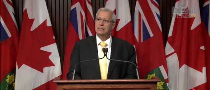 Interim Leader Vic Fedeli  Lake Superior News
