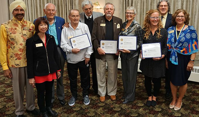 Port Arthur Rotary Paul Harris Fellows  Lake Superior News