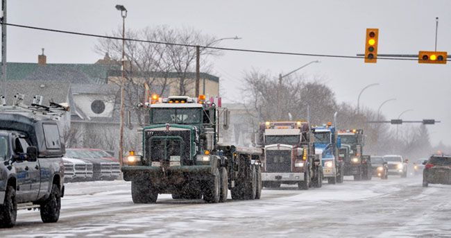 United We Roll Convoy for Canada  Lake Superior News