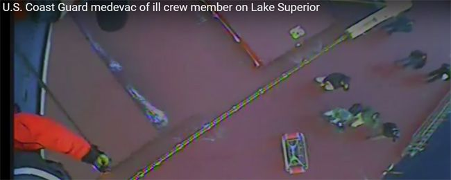 US Coast Guard Medevac        Lake Superior News