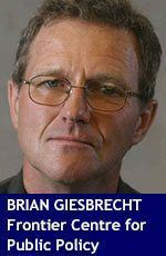 Brian-Giesbrecht senior fellow with Frontier Centre for Public Policy. Lake Superior News