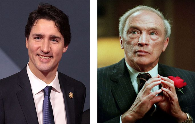 Justin Trudeau  Pierre Trudeau Vision of  Canada   Lake Superior News