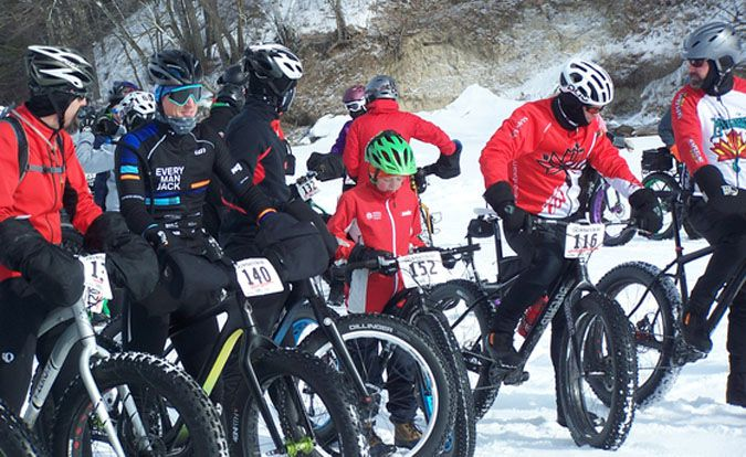 Fat Bike Rally  Lake Bemidji State Park  Lake Superior News