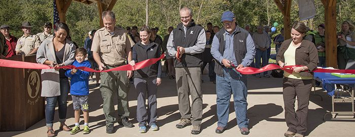 Ribbon Cutting Whitewater State Park   Lake Superior News