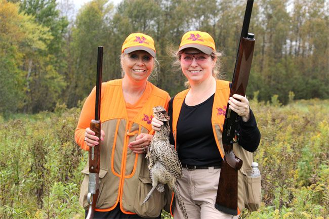 Women Bird Hunting   Lake Superior News