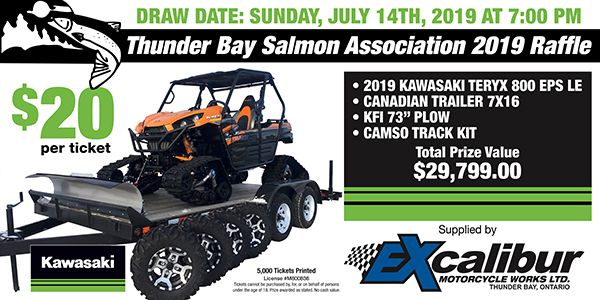 Thunder Bay Salmon Assoc Draw   Lake Superior News