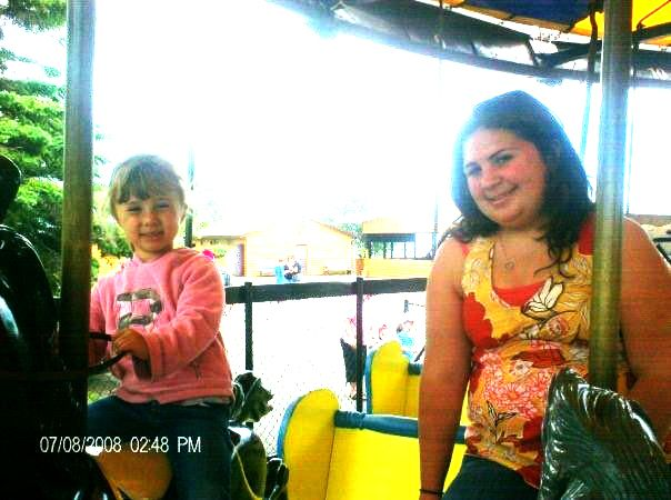 Carmelina and Christina Gatto from Guelph  On Chippewa Park Carousel   Lake Superior News