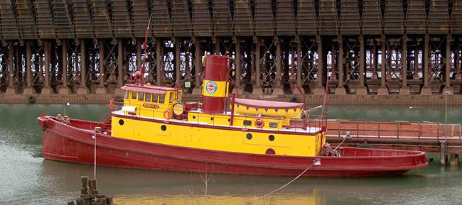 tugboat Edna G  Two Harbors   Lake Superior News