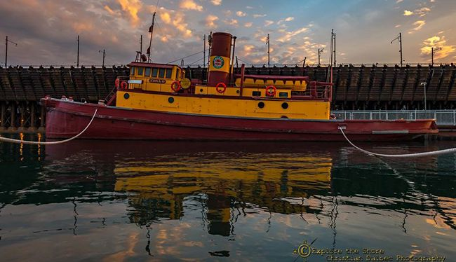 tugboat Edna G  Lake Superior News