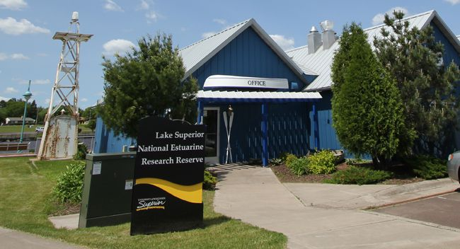 Lake Superior Estuarium on Barker's Island  Lake Superior News