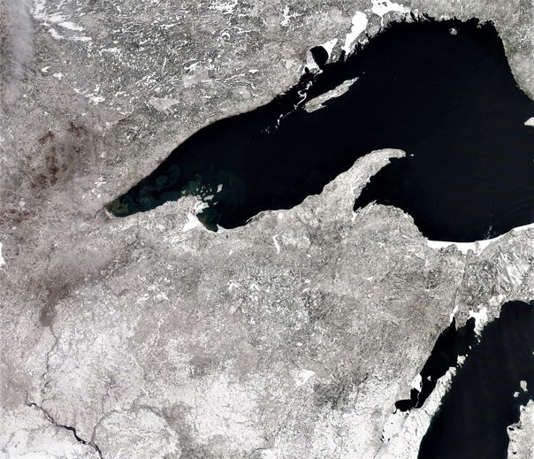 April Winter still around   Lake Superior News