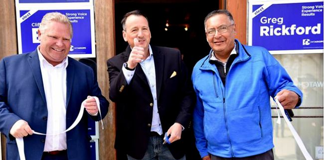 Ford opens Greg Rickford and Chief Clifford Bull Campaign office in Kenora   Lake Superior News
