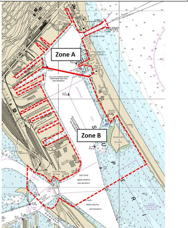 Security Zone for Trumps Visit to Duluth  Lake Superior News