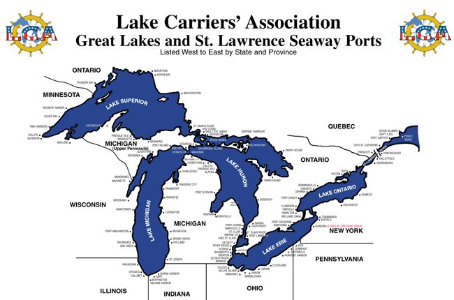 Lake Carrier Association   Lake Superior News
