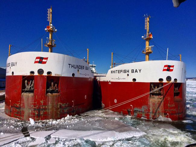 thunder Bay and White Fish Bay   Lake Superior News