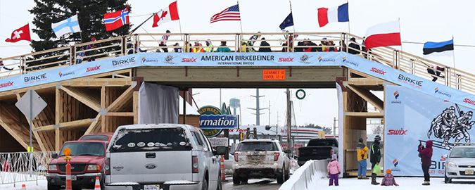 American Birkebeiner International Bridge   Lake Superior News