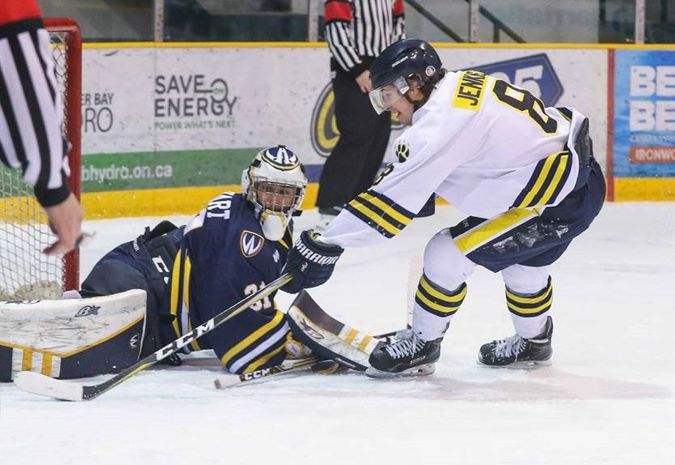 Lakehead wins overtime thriller Against Windsor Lancers  Lake Superior News