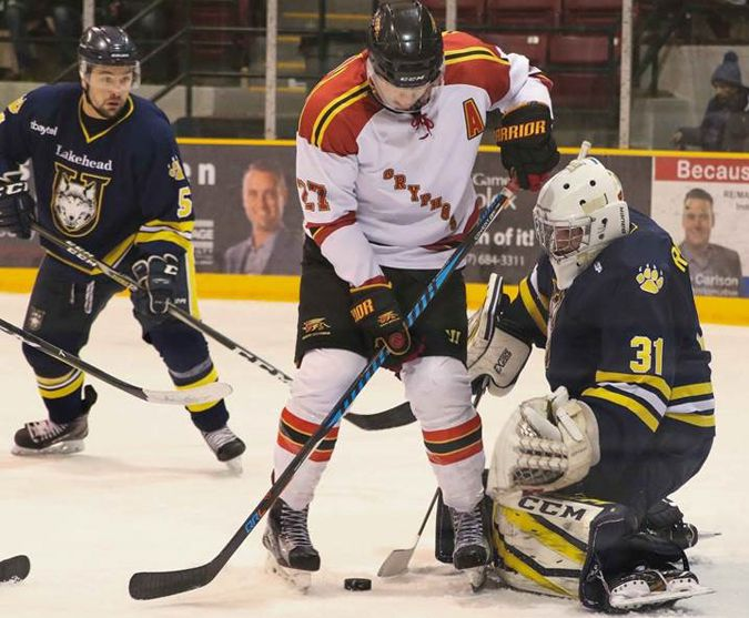 Thunderwolves edged by Guelph in OT  Lake Superior News
