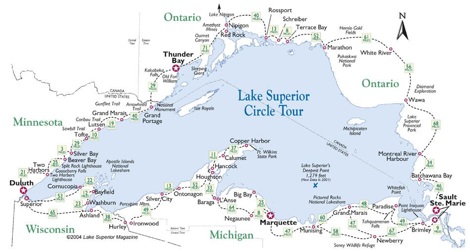 Lake Superior Circle Route
